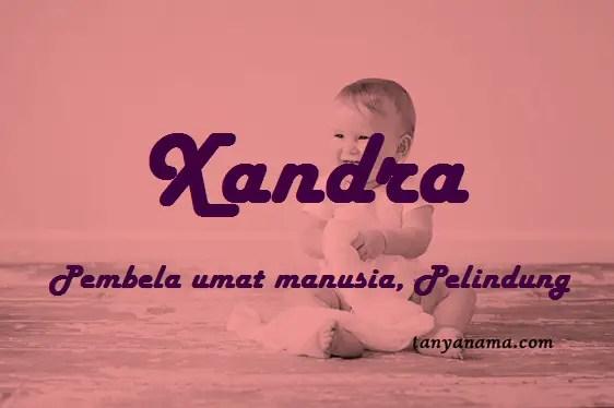 arti nama Xandra