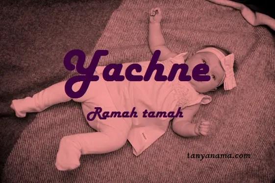 arti nama Yachne