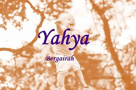 Arti Nama Yahya Dan Rangkaian Namanya Tanya Nama