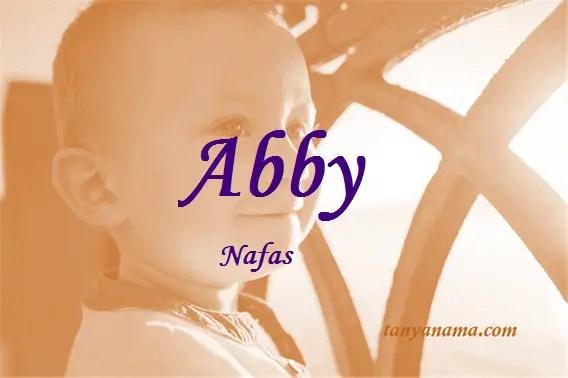 arti nama Abby