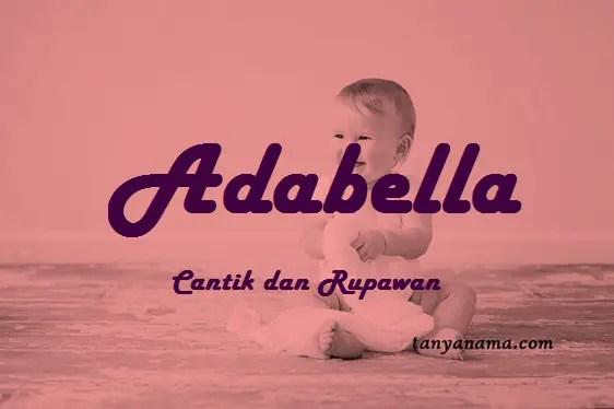 arti nama Adabella