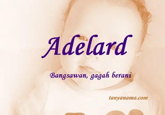 arti nama Adelard