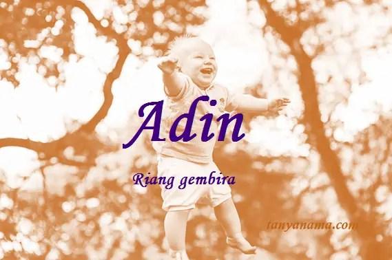 arti nama Adin