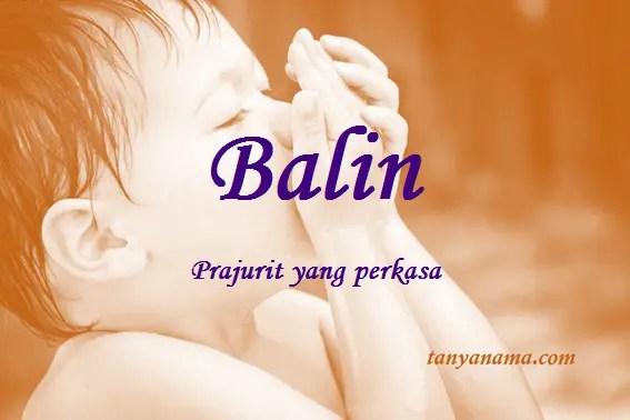 arti nama Balin