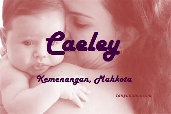 arti nama Caeley