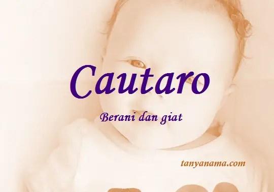 arti nama Cautaro