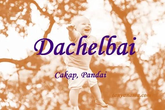 arti nama Dachelbai
