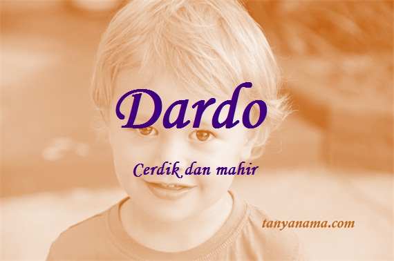 arti nama Dardo
