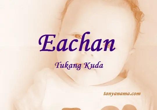 arti nama Eachan