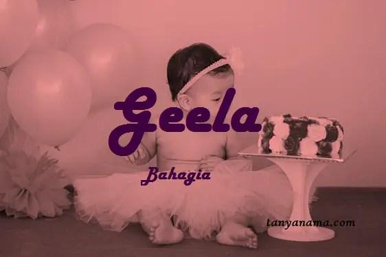 arti nama Geela