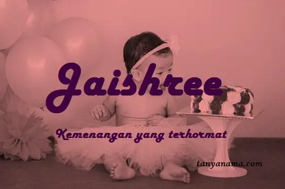 arti nama Jaishree