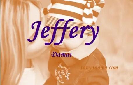 arti nama Jeffery