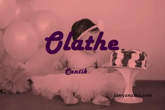 arti nama Olathe