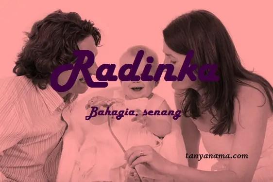 arti nama Radinka