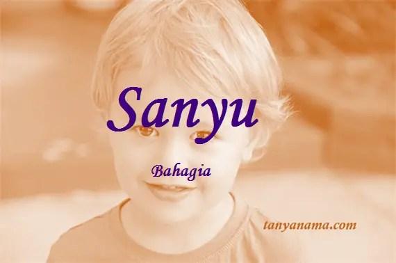 arti nama Sanyu
