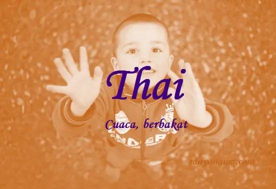 arti nama Thai