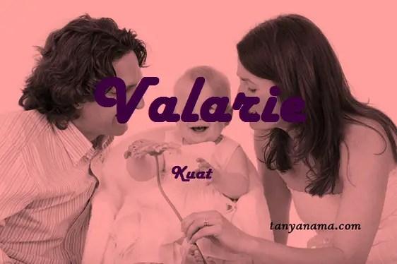 arti nama Valarie