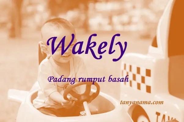 arti nama Wakely