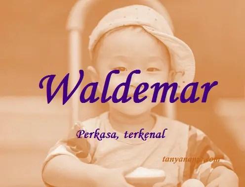 arti nama Waldemar