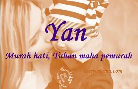 arti nama Yan