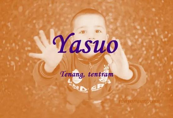 arti nama Yasuo