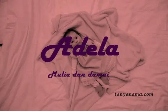 arti nama Adela