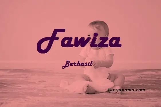 arti nama Fawiza