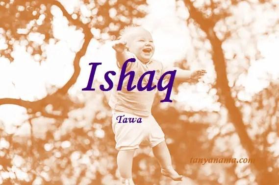 arti nama Ishaq