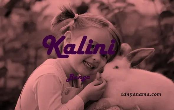 arti nama Kalini