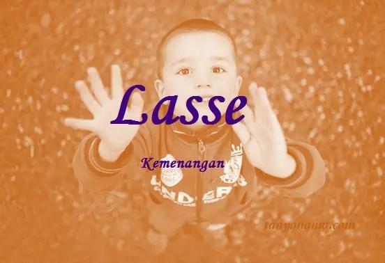 arti nama Lasse