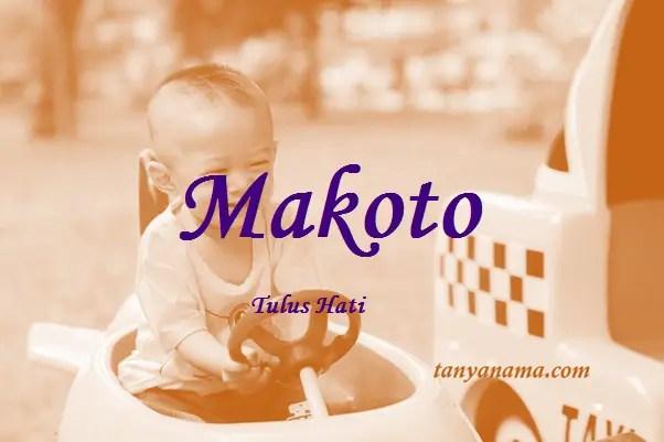 arti nama Makoto