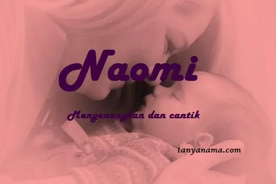 arti nama Naomi