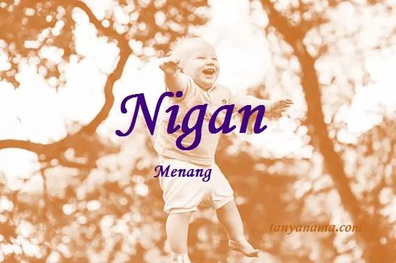 arti nama Nigan