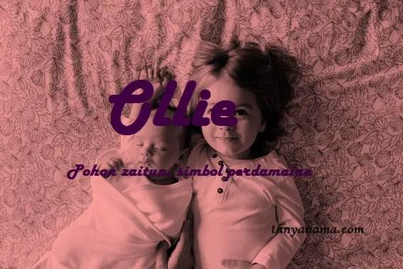 arti nama Ollie