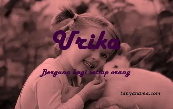 arti nama Urika