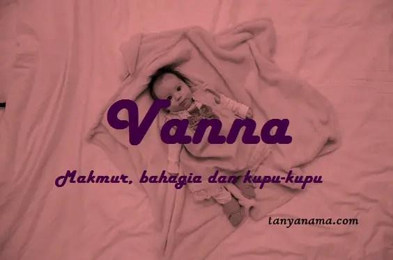 arti nama Vanna