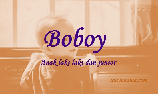 arti nama Boboy