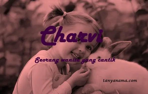 arti nama Charvi