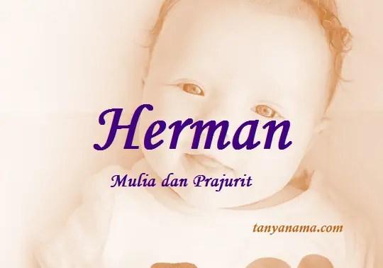 arti nama Herman