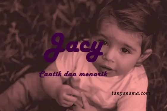 arti nama Jacy