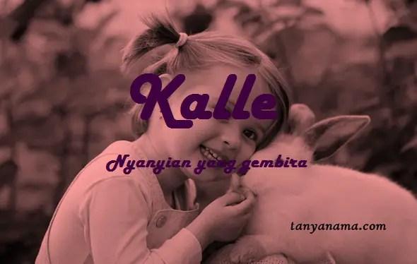 arti nama Kalle