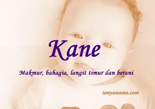 arti nama Kane