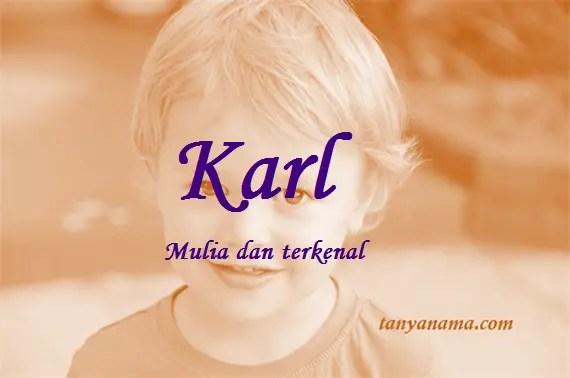arti nama Karl