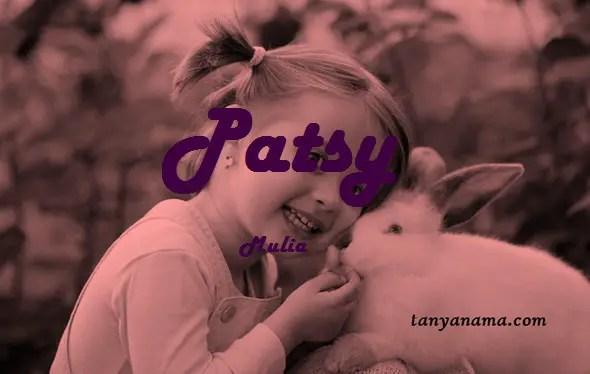 arti nama Patsy