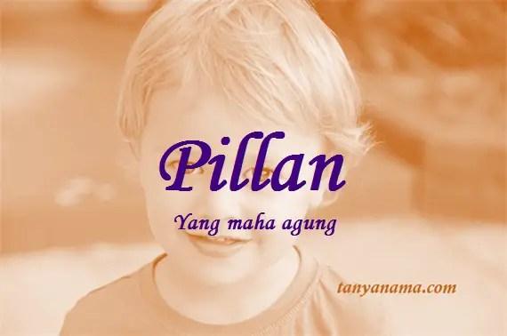 arti nama Pillan