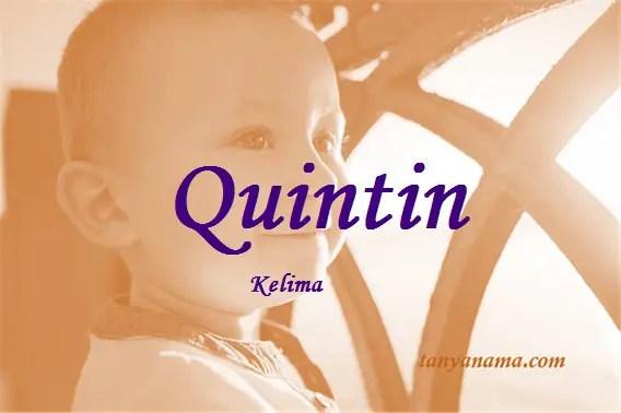 arti nama Quintin