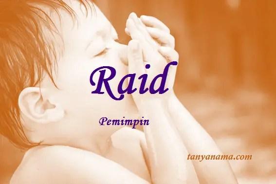 arti nama Raid