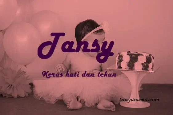arti nama Tansy