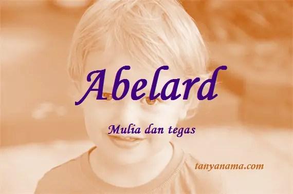 arti nama Abelard