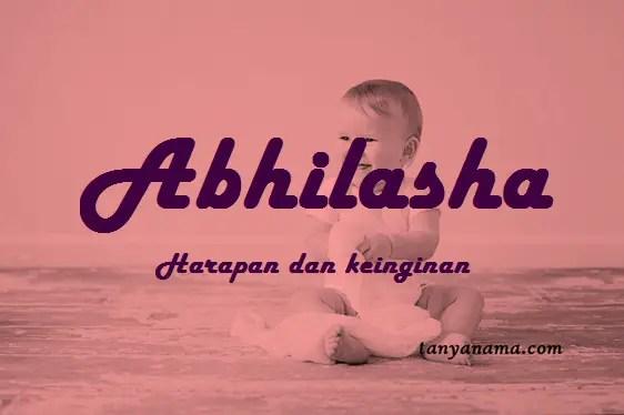 arti nama Abhilasha